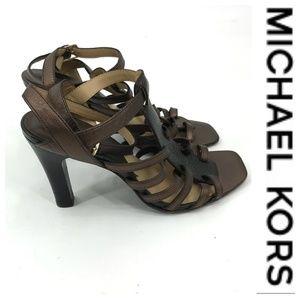 💕SALE💕 Michael Kors Copper Heels